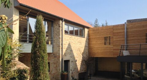 Umbau einer Scheune zum Wohnhaus in Neustadt a.d.W.- Gimmeldingen